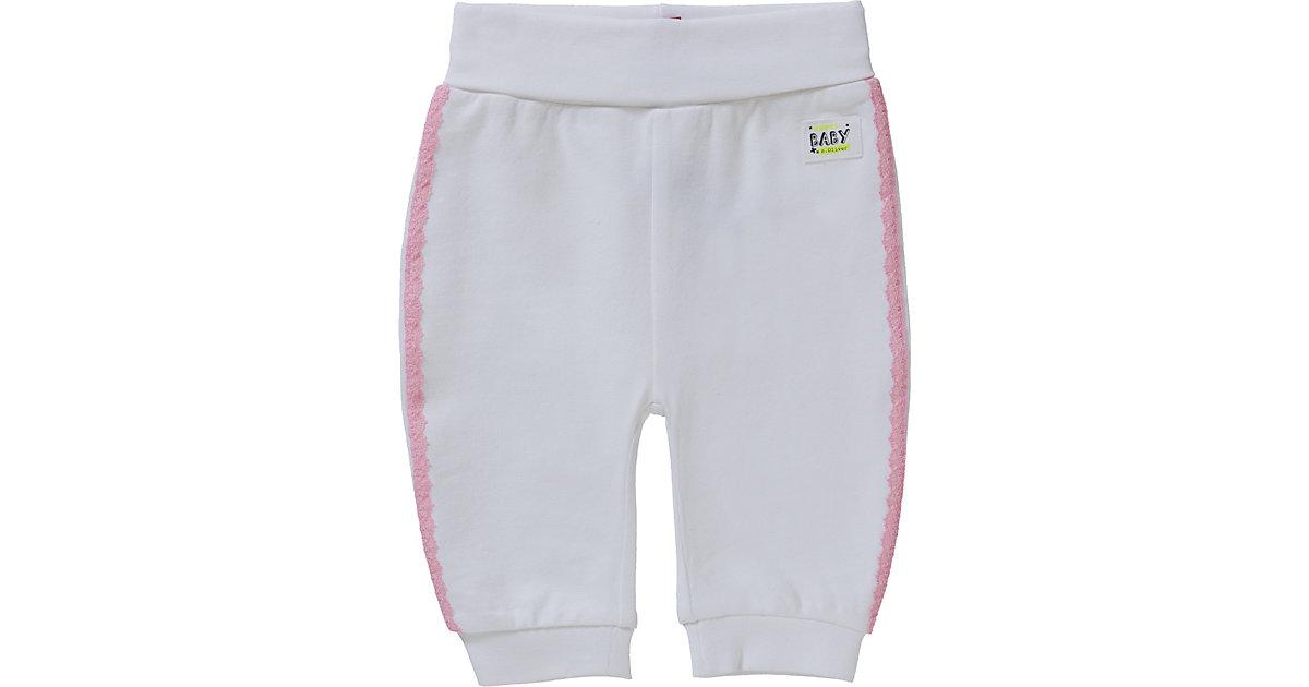 Leggins lang - Leggings - unisex weiß Gr. 50/56 Mädchen Baby