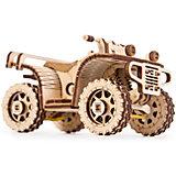 Сборная модель Wood Trick Квадроцикл ATV