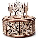 """Сборная модель Wood Trick Музыкальная шкатулка """"Танцующие балерины"""""""