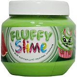 Слайм Monster's Slime Fluffy Зеленый с ароматом арбуза, 250 мл