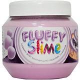 Слайм Monster's Slime Fluffy Фиолетовый с ароматом баблгам, 250 мл