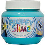 Слайм Monster's Slime Fluffy Голубой с ароматом ванили, 250 мл