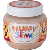 Слайм Monster's Slime Fluffy Бежевый с ароматом персика, 250 мл