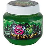 Слайм классический Monster's Slime Зеленый с ароматом сочного яблока, 250 мл