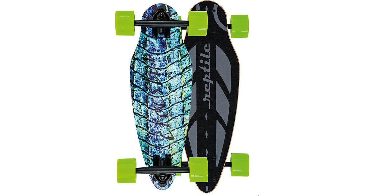 Mini Longboard Crocster blau/grün