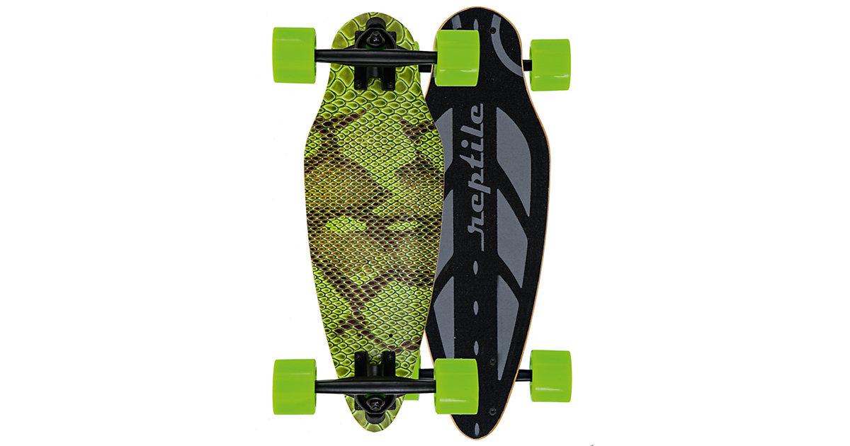 Mini Longboard Green Mamba grün