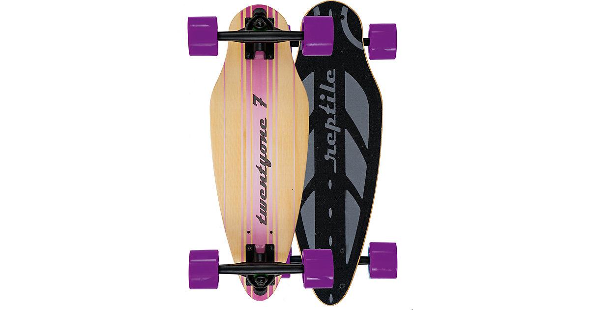Mini Longboard TwentyOne7 lila