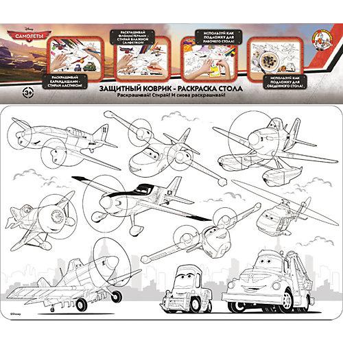 """Защитный коврик-раскраска для стола Десятое королевство Disney """"Самолёты"""" от Десятое королевство"""