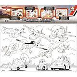 """Защитный коврик-раскраска для стола Десятое королевство Disney """"Самолёты"""""""