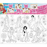 """Защитный коврик-раскраска для стола Десятое королевство Disney """"Принцесса"""""""