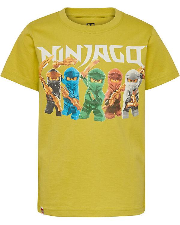 jungen tragen gelbe t shirts