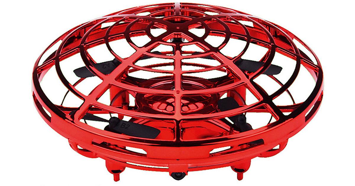 Mini UFO mit Gestensteuerung, rot
