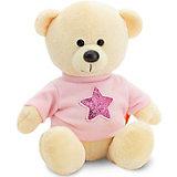 Мягкая игрушка Orange Медведь Топтыжкин жёлтый: Звезда, 25 см