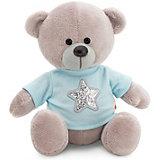 Мягкая игрушка Orange Медведь Топтыжкин серый: Звезда, 17 см