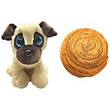 Мягкая игрушка-трансформер Sweet Pups Сладкие щенки, Мопс