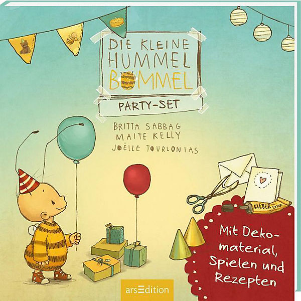 Die kleine Hummel Bommel: Party-Set
