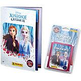 Альбом Panini Холодное сердце 2 (Frozen 2) и блистер с наклейками, 6 пакетиков