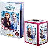 Альбом Panini Холодное сердце 2 (Frozen 2) и бокс с наклейками, 50 пакетиков