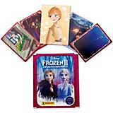 Наклейки Panini  Холодное сердце 2 (Frozen 2) в пакетике (4 наклейки, 1 карточка)