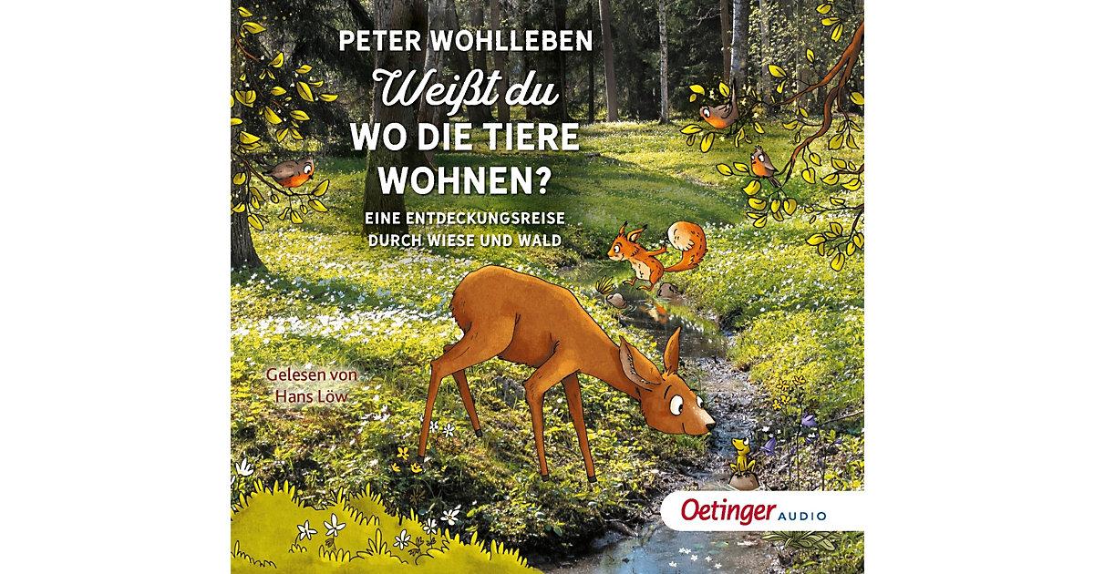 Weißt du, wo die Tiere wohnen?, 2 Audio-CDs Hörbuch