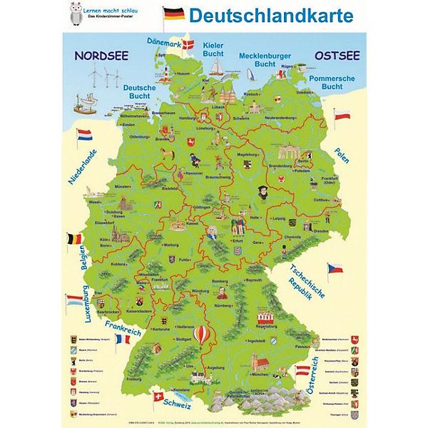deutschland karte lernen Lernen macht schlau: Deutschlandkarte, | myToys
