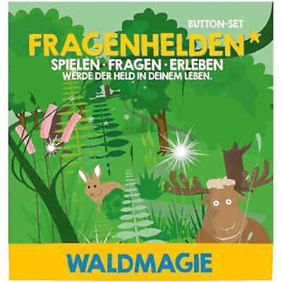 Fragenhelden Button: Waldmagie