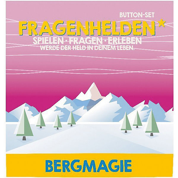 Fragenhelden Button: Bergmagie