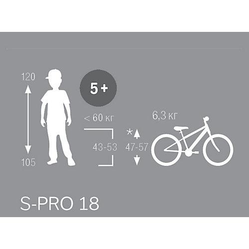 Двухколесный велосипед Puky S-Pro 18 4416 - синий/серебряный от PUKY