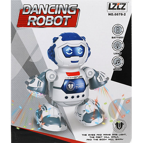 Робот Наша игрушка со светом и звуком от Наша Игрушка