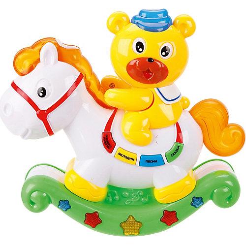 Медвежонок и лошадка Наша игрушка с проектором от Наша Игрушка