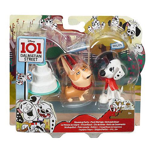 Игровой набор Disney Улица 101 Далматинца Свадебная вечеринка от Mattel