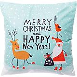 Декоративная подушка House of seasons Рождество мятная