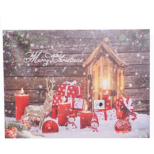 """Рождественская картина House of seasons """"Свечи"""" от House of Seasons"""