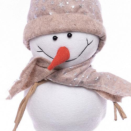 Фигурка декоративная House of seasons Снеговик в бежевой шапочке от House of Seasons