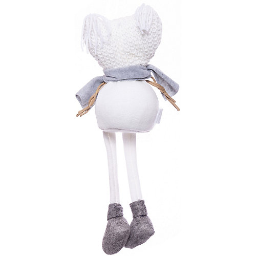 Фигурка декоративная House of seasons Снеговик в белой шапочке от House of Seasons