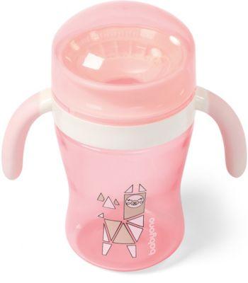 Поильник-непроливайка BabyOno 360° розовый, 240 мл — Поильник-непроливайка BabyOno 360° , 240 мл
