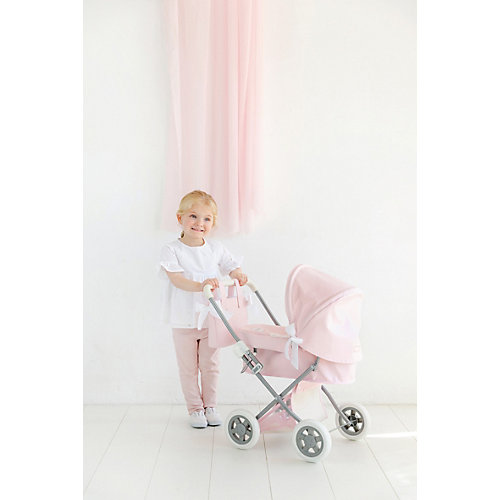 Коляска для кукол La Nina, розовая от La Nina