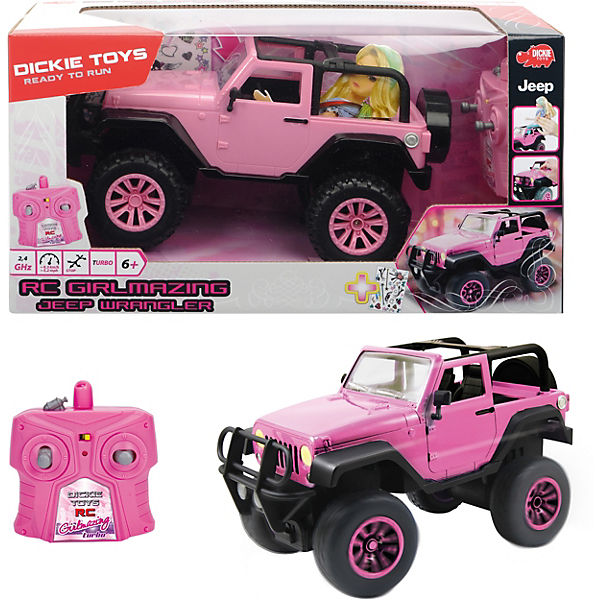 RC Girlmazing Jeep Wrangler 1:16