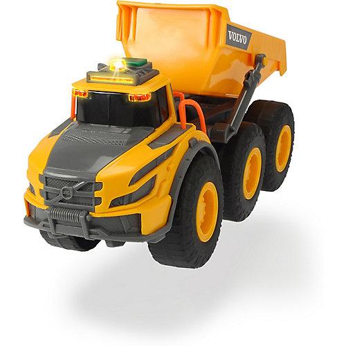 Самосвал Dickie Toys Volvo, свет, звук, 23 см от Dickie Toys