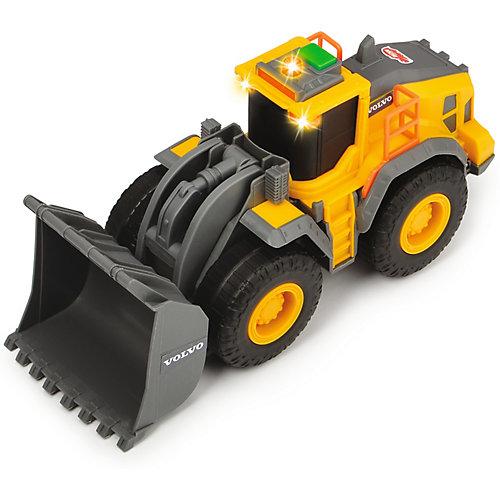 Колесный погрузчик Dickie Toys Volvo, свет, звук, 23 см от Dickie Toys