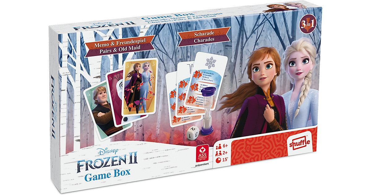 Disney Die Eiskönigin 2 - Spielebox - mit Scharade, dem Spiel aus dem Film
