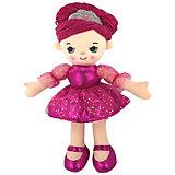 Мягкая кукла ABtoys Балерина в розовом платье, 30 см