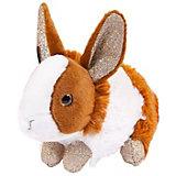 Мягкая игрушка Teddy Кролик, 18 см, рыже-белый