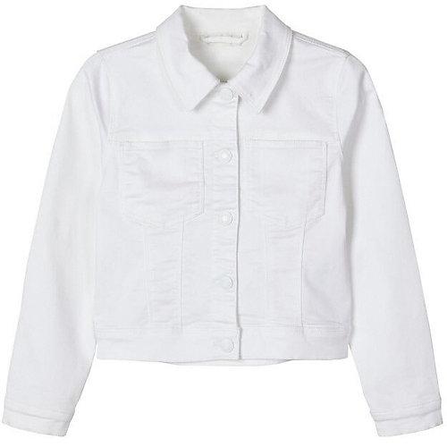 Джинсовая куртка name it - белый от name it