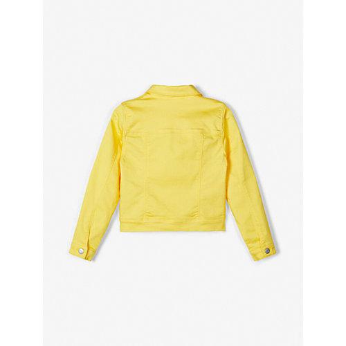 Джинсовая куртка name it - желтый от name it