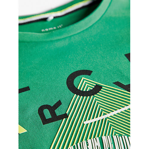 Футболка Name it - зеленый от name it