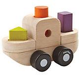 """Сортер-конструктор Plan Toys """"Корабль"""", 7 деталей"""