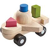"Сортер-конструктор Plan Toys ""Самолёт"", 8 деталей"