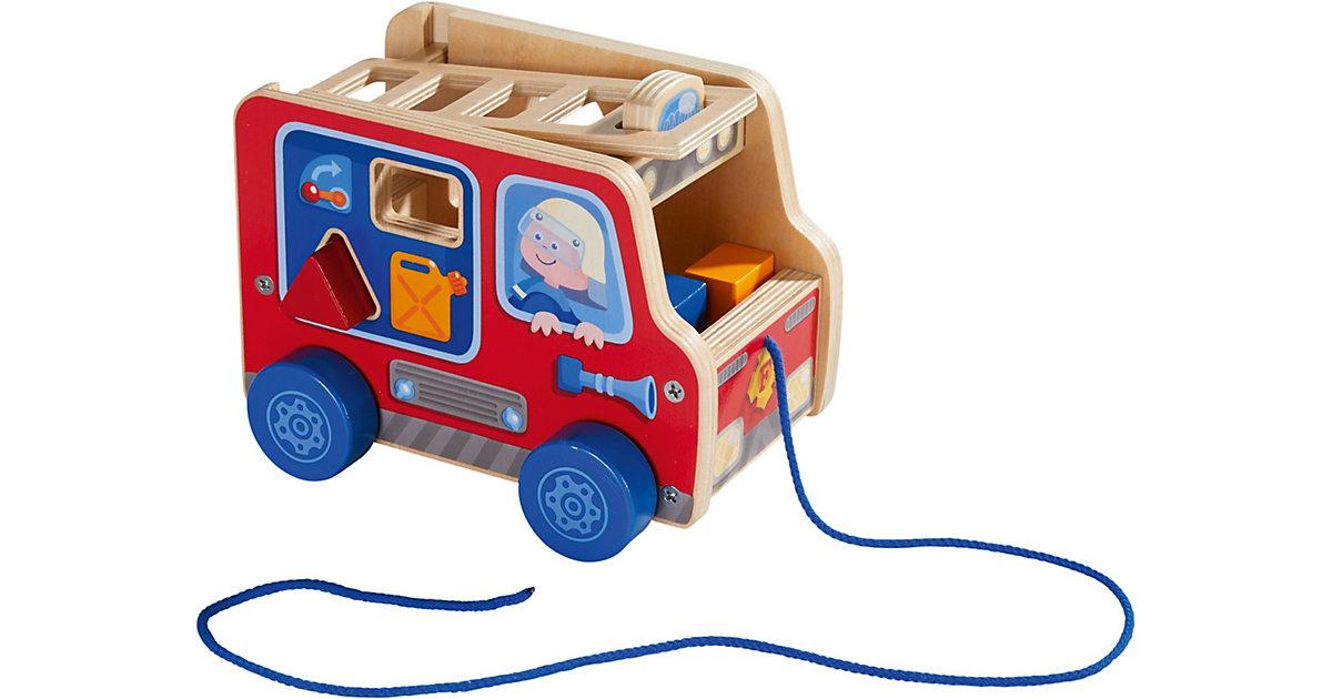 HABA 304317 Ziehfigur Feuerwehrauto