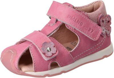 Däumling, Sandalen für Mädchen, Weite S für schmale Füße